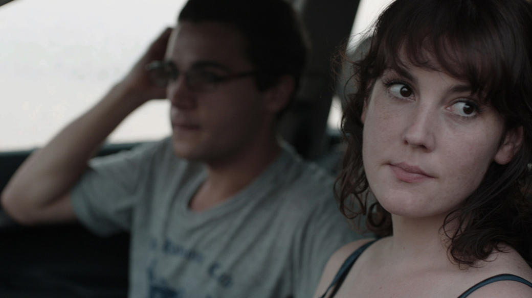 Christopher Abbott and Melanie Lynskey in