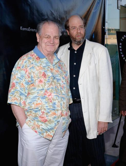 Paul Dooley and Stephen Tobolowsky at the Stephen Tobolowsky's Birthday Party and DVD release at Aqua.