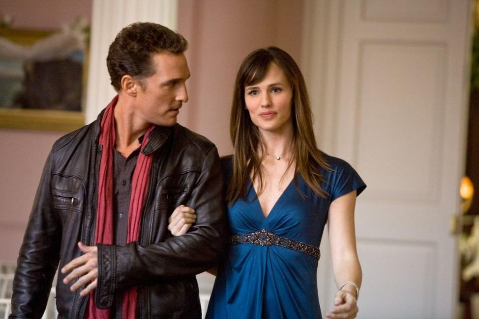 Matthew Mcconaughey as Connor and Jennifer Garner as Jenny in