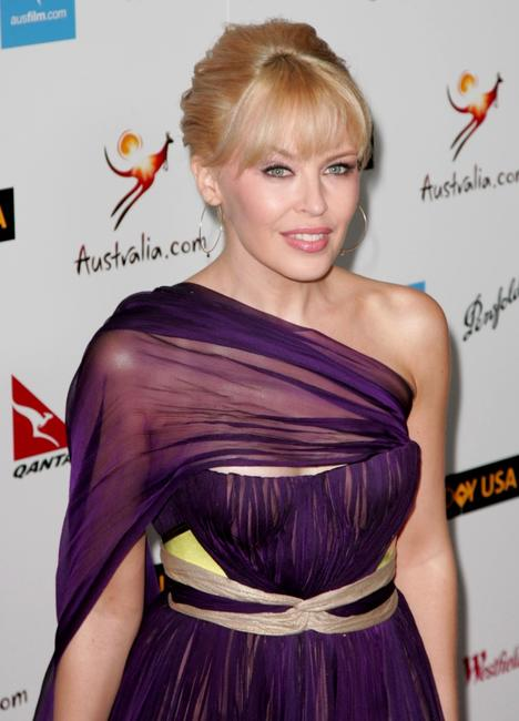 Kylie Minogue at the GDAY USA Australia.com Black Tie Gala.