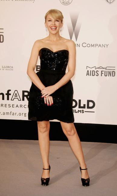 Kylie Minogue at the Cinema Against Aids 2007 in aid of amfAR.