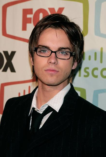 Thomas Dekker at the FOX Fall Eco-Casino party.