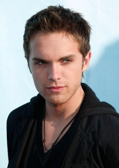 Thomas Dekker at the FOX All-Star Party.