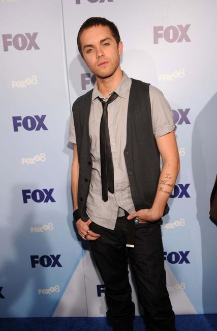 Thomas Dekker at the 2008 FOX Upfront.