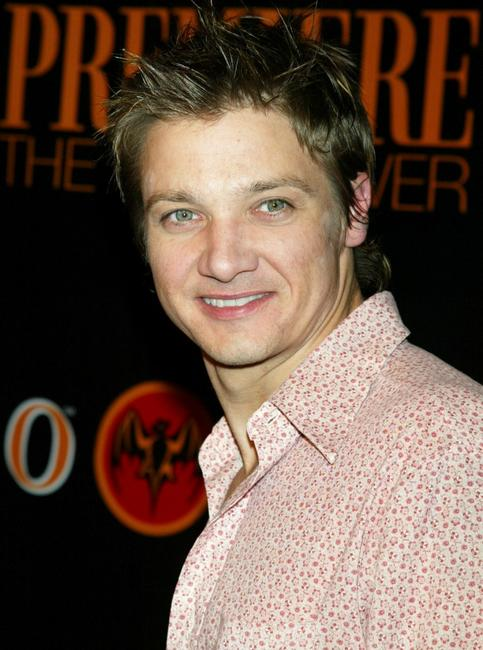 Jeremy Renner at the premiere magazine's