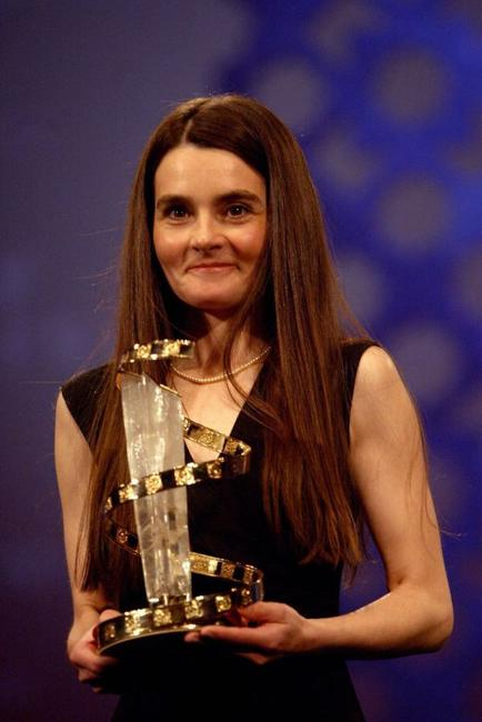 Shirley Henderson at the closing ceremony of the International Film Festival of Marrakech.
