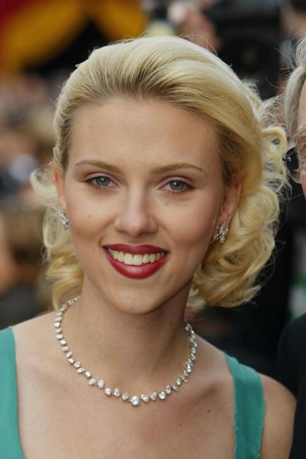 Scarlett Johansson at the 76th Annual Academy Awards.