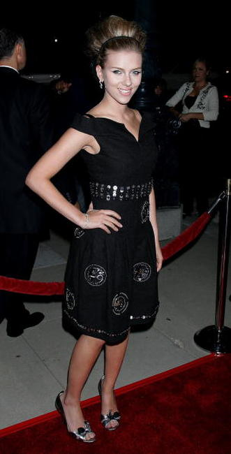 Scarlett Johansson at the Beverly Hills premiere of