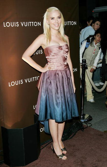 Scarlett Johansson at the Louis Vuitton