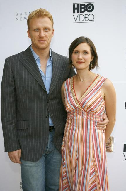 Kevin McKidd and wife Jane at a cocktail reception to celebrate the DVD release of