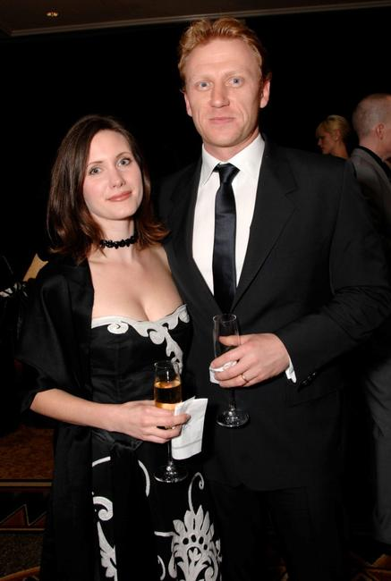 Jane McKidd and Kevin McKidd at the10th Annual Costume Designers Guild Awards reception.