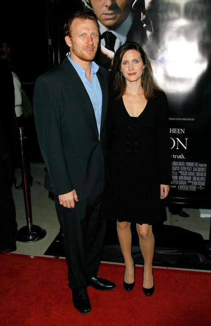 Kevin McKidd and Jane Parker at the premiere of