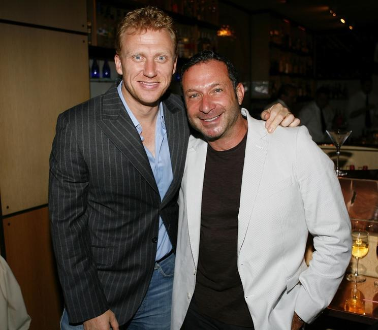 Kevin McKidd and Alan Poul at the cocktail reception to celebrate the DVD release of