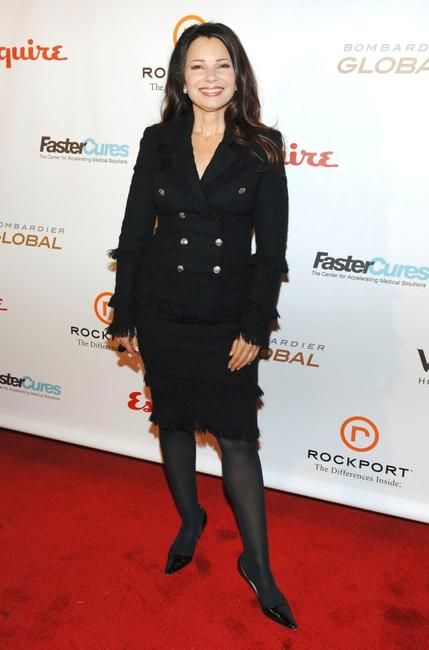 Fran Drescher at the Fastercures event honoring Sumner Redstone.