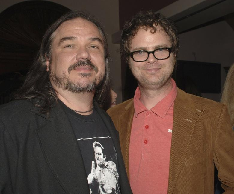 W. Earl Brown and Rainn Wilson at the after party premiere of