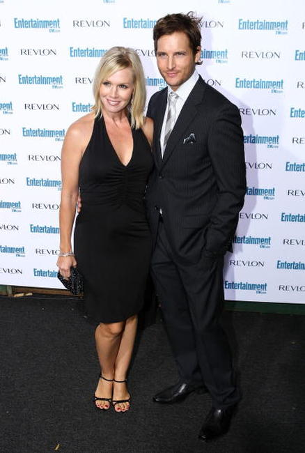 Jennie Garth and Peter Facinelli at the Entertainment Weekly's 6th annual pre-Emmy celebration.