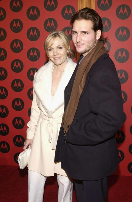 Jennie Garth and Peter Facinelli at Motorola's Sixth Anniversary party.