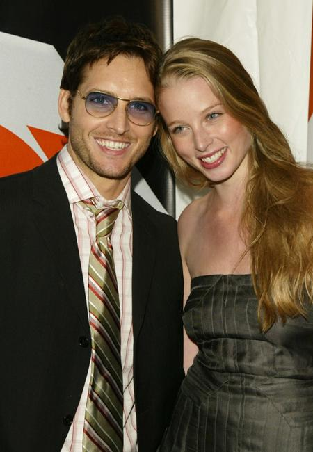 Peter Facinelli and Rachel Nichols at the after party for the Fox primetime program schedule announcements for 2004-2005.