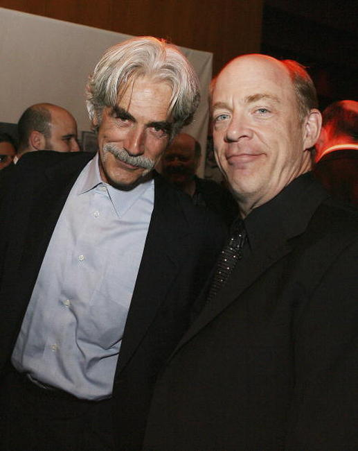 Sam Elliott and JK Simmons at the after party of the premiere of
