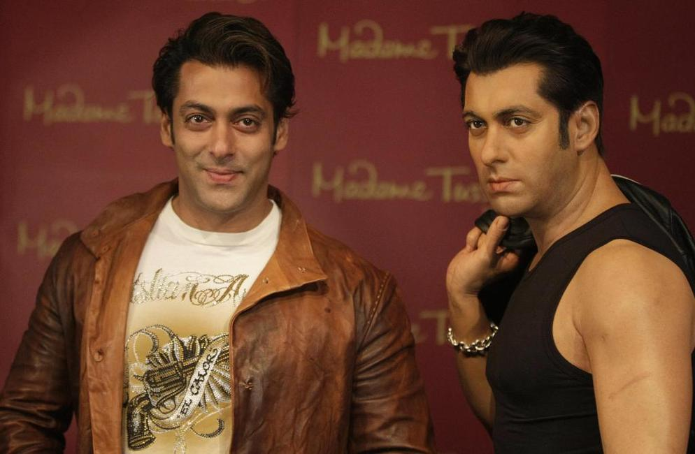 Salman Khan at the London's Madame Tussaud wax work museum.