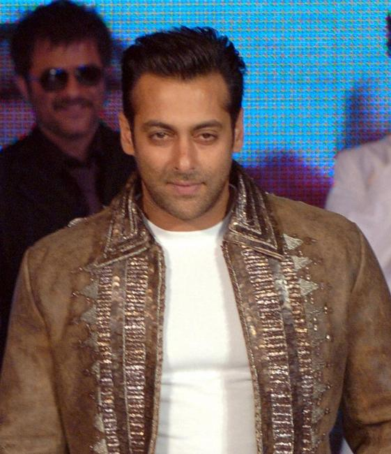 Salman Khan at the music release function of