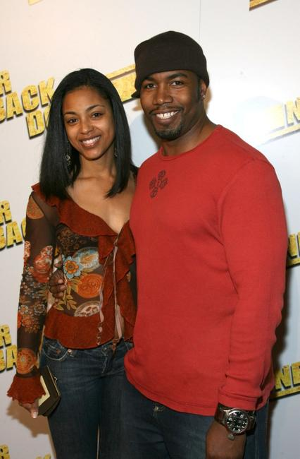 Courtenay Chatman and Michael Jai White at the premiere of