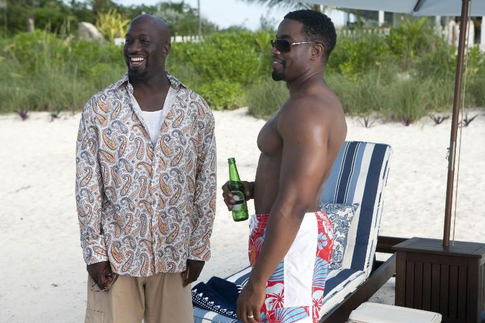 Richard T. Jones as Mike and Michael Jai White as Marcus in