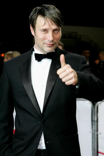 Mads Mikkelsen at the 20th European Film Awards.
