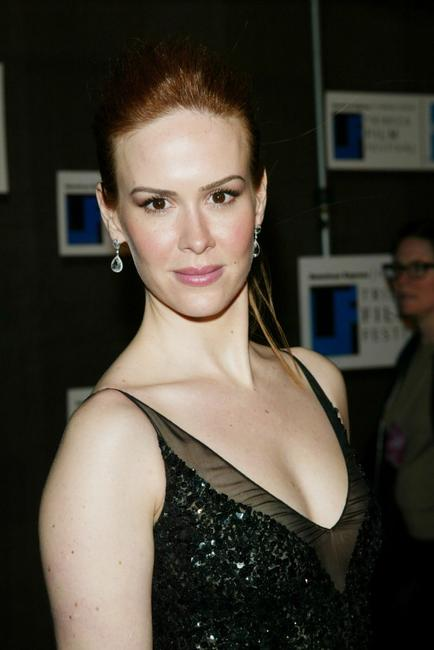 Sarah Paulson at the opening night party of 2003 Tribeca Film Festival.