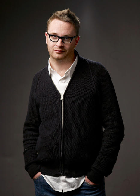 Nicolas Winding Refn at the portrait session of