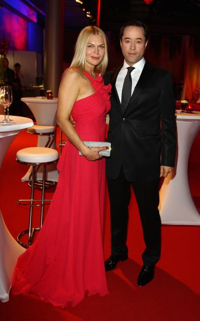 Anna Loos Liefers and Jan Josef Liefers at the German TV Award 2008.