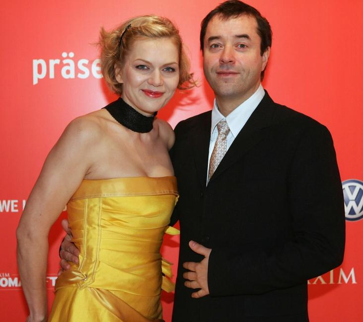 Anna Loos Liefers and Jan Josef Liefers at the Maxim's Woman of the Year Awards.