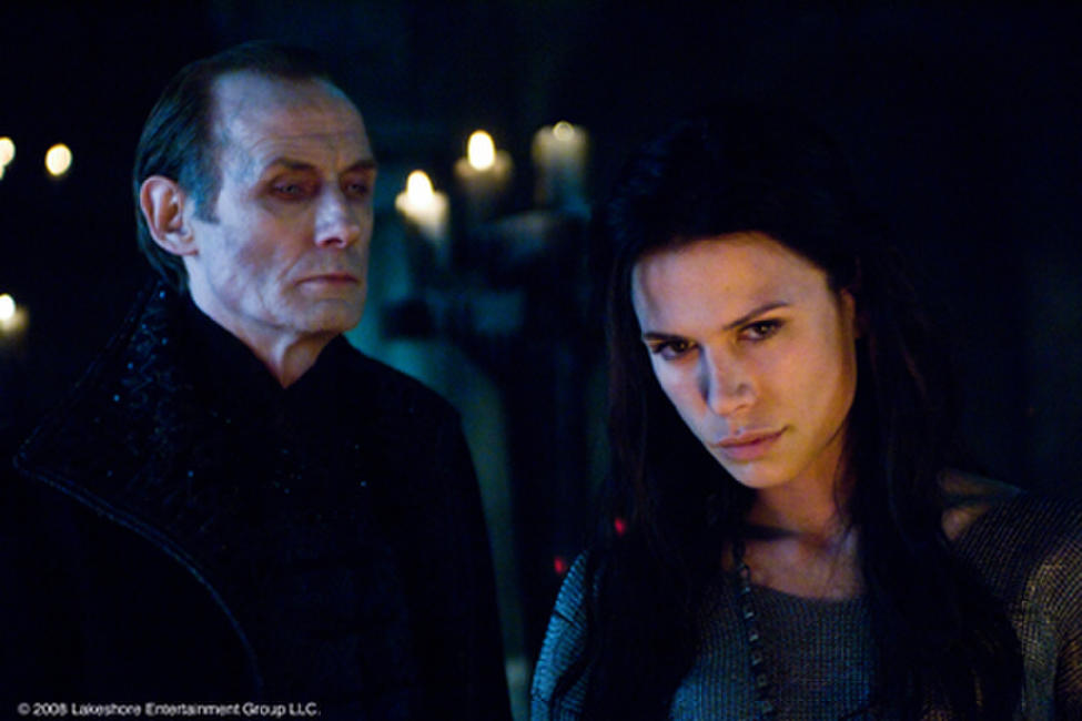 Bill Nighy as Viktor and Rhona Mitra as Sonja in