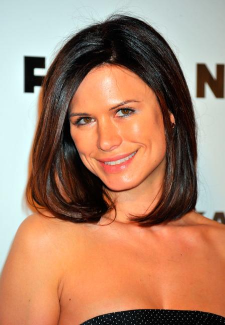 Rhona Mitra at the Flaunt Magazine's 10th Anniversary Party.