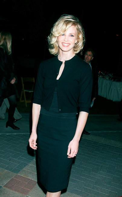 Monica Potter at the premiere of