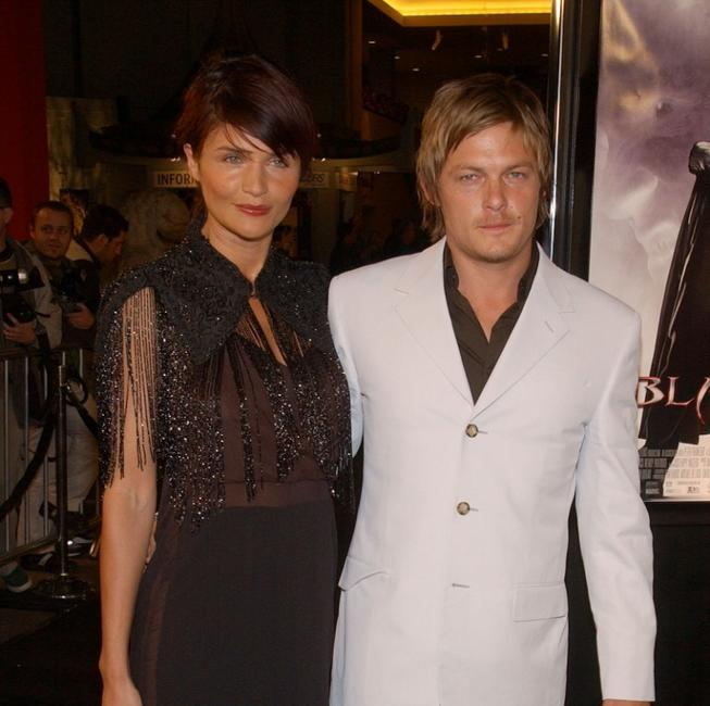 Norman Reedus and Frederic Cumenal at the Moet and Chandon Fabulous Fete.