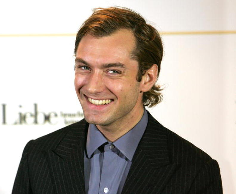 Jude Law at a photocall in Germany for