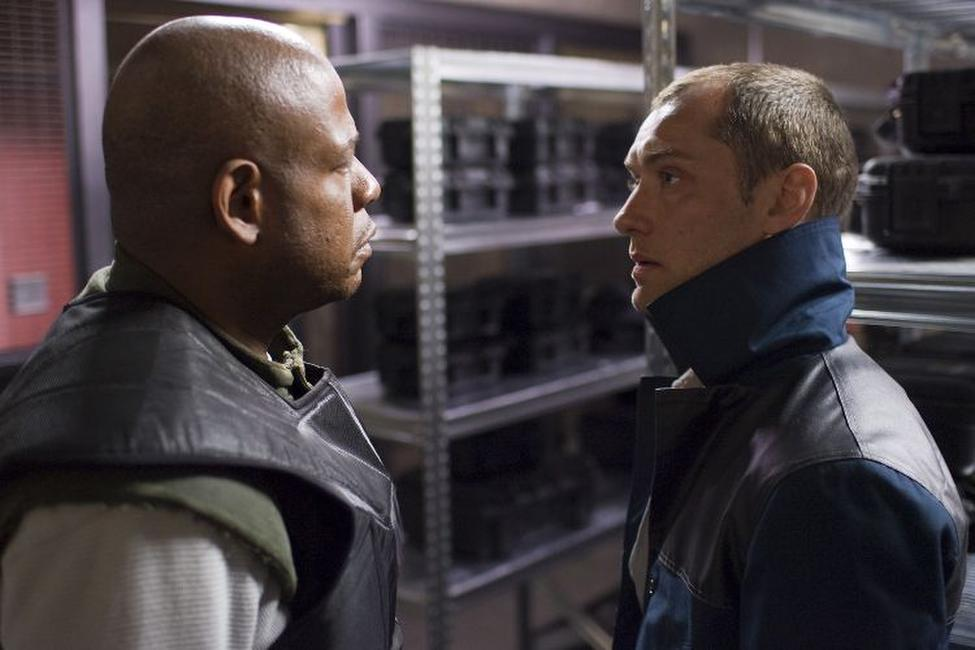 Forest Whitaker and Jude Law in