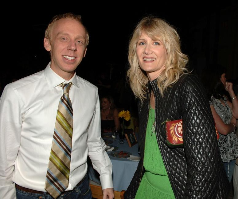 Mike White and Laura Dern at the after party of the LA premiere of