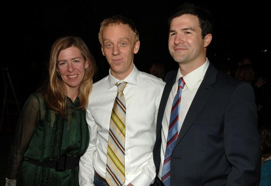 Producer Dede Gardner, Mike White and Producer Ben LeClair at the after party of the LA premiere of