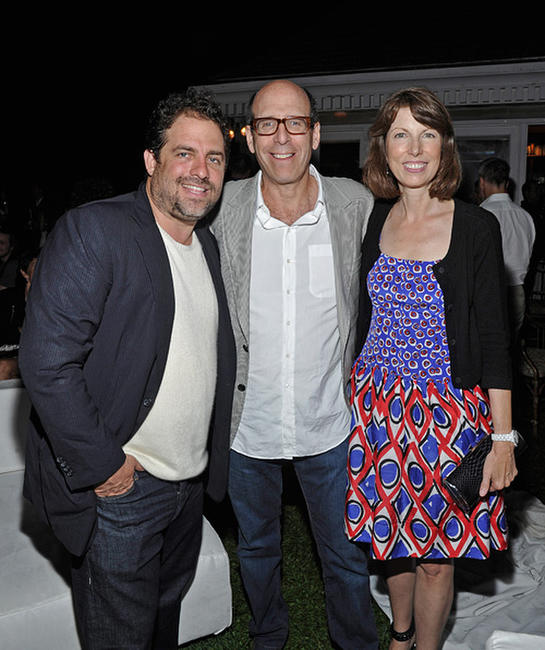 Brett Ratner, Matthew Blank and Susan McGuirk at the Showtime and Cinema Society premiere of