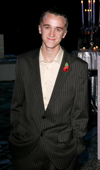 Tom Felton at the world premiere party of