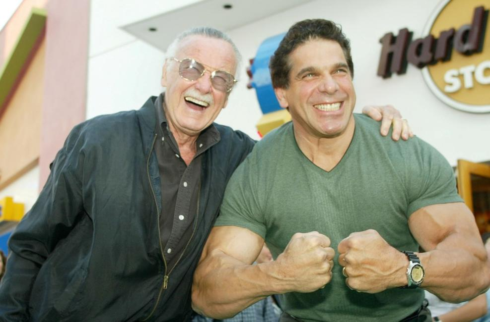 Lou Ferrigno and Marvel Comics at the world premiere of