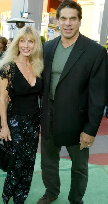 Lou Ferrigno and his wife Carla at the world premiere of