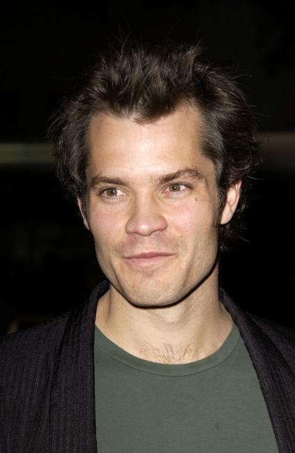 Timothy Olyphant at the premiere of