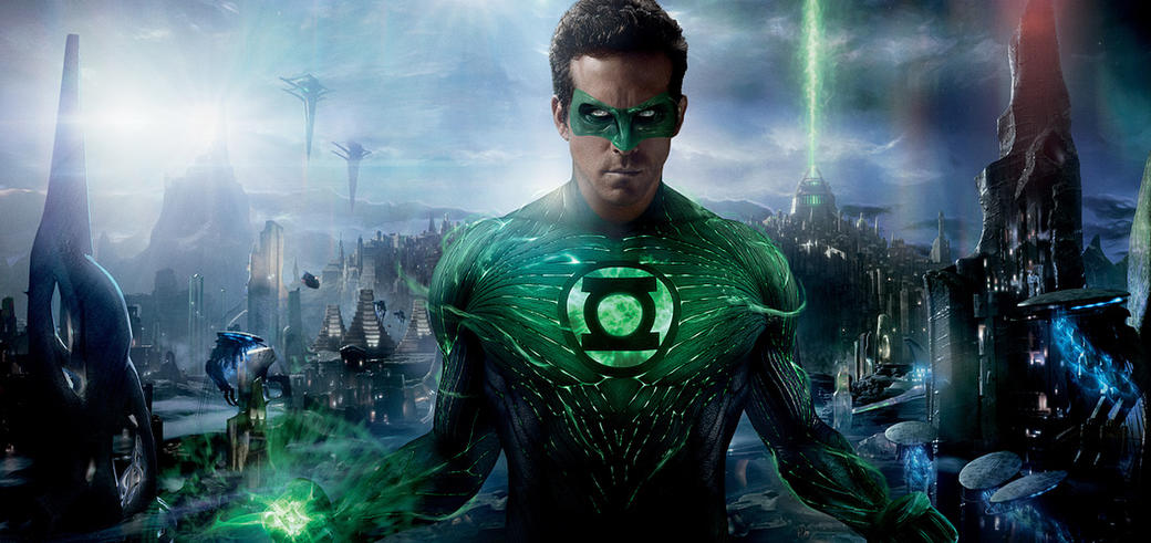 Ryan Reynolds as Green Lantern in