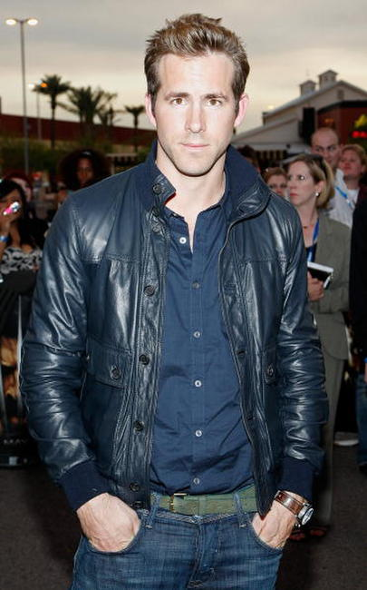 Ryan Reynolds at the premiere of