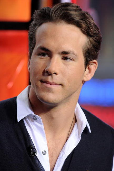Ryan Reynolds at the MTV's Total Request Live.
