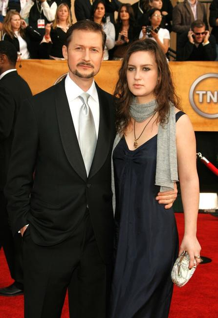 Todd Field and guest at the 13th Annual Screen Actors Guild Awards.