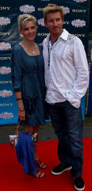 Kate Agnew and David Wenham at the Sony Tropfest 2007 short film festival.